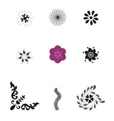 Nine Vector Design Icons