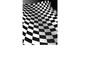 Abstract Checker Board curve - vector illustration