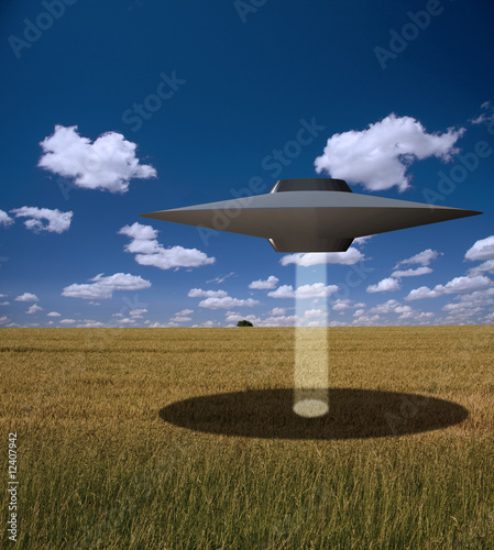 Foto op Canvas UFO