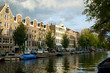 Merchant houses along the canal, Amsterdam