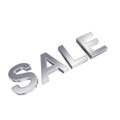 Sale - chrome sign.