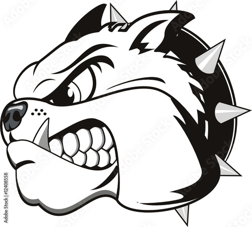 Bulldog Tattoos on Vector Tattoo Bulldog Head    Mirabile  12408558   See Portfolio
