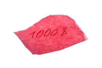 $1000 IOU
