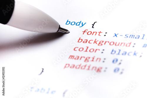 Computer Code CSS