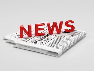 3d news on newspaper