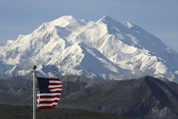 Der Mount McKinley, Nordamerikas höchster Berg, Alaska - USA