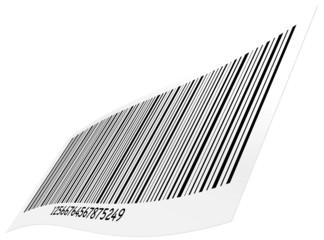 barcode vectoriel sur un fond blanc - vecteur série