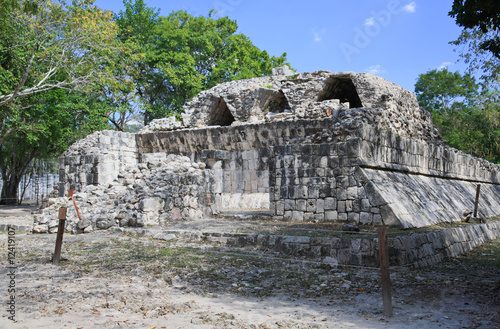 The chichen itza Maya Ruin