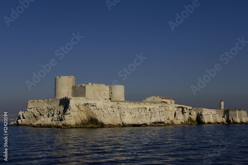 France, Marseille, château d'If