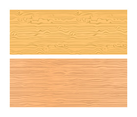 Two seamless wood textures in warm colors