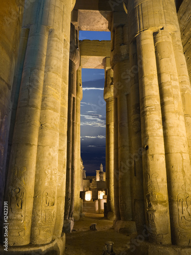 Luxor temple, Thebes. Egypt series