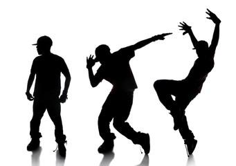 Sequence of Hip Hop Dancer
