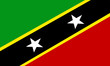 st. kitts und nevis fahne saint kitts and nevis flag