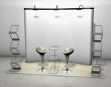 exhibition stand tradeshow poster