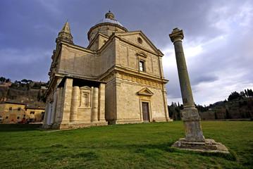 Montepulciano (Siena) Tempio di San Biagio 1