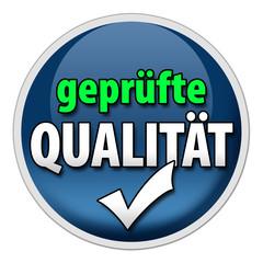 Button geprüfte Qualität