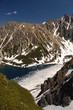 Czarny Staw in polish Tatra mountains