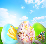 Perfect easter background