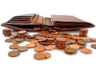 concept:empty wallet