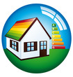 House energy certification icon