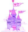Fairy Tale Princess Castle in the sky