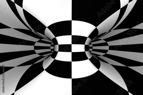 czarno-biala-abstrakcja