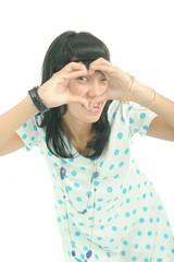 hand binocular