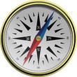 vector english compass