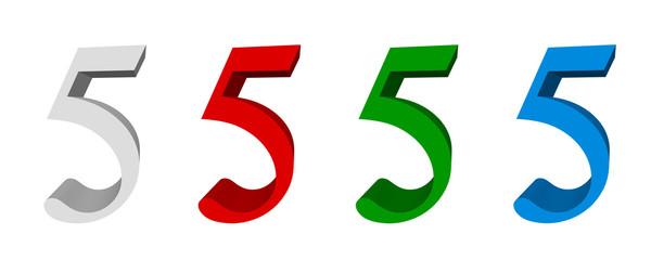 3D digits_5