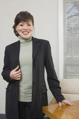Portrait of an Asian businesswoman