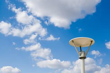 Street lamp in the sky