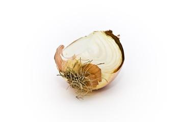 Spicchio di cipolla gialla