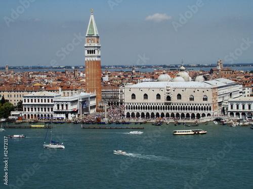 Obraz na Szkle panorama Wenecji