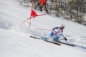 ski race