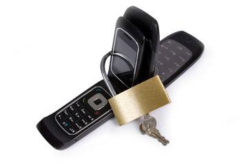 Blocked mobile phone
