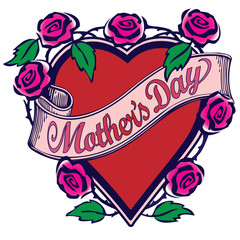 Mother's Day Tattoo Design 2