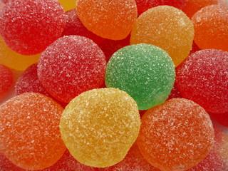 Bonbons différence de couleur
