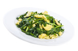 Stir Fried Scrambled Eggs with Chives poster