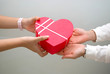 Gift giving - valentine and love