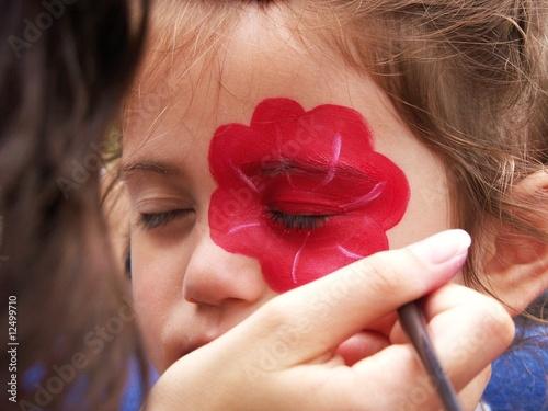 Peinture sur visage d 39 enfant stock photo and royalty free images on pic 12499710 - Peinture sur visage ...