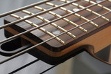 Guitar strings and fingerboard poster