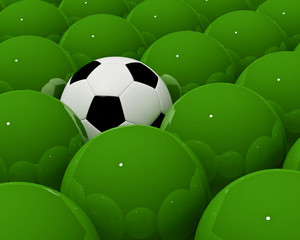 only soccer in my mind