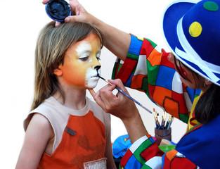 Carnaval - Séance de Maquillage 02
