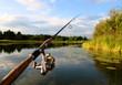 spinning and lake - 12505576