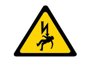 electrocution warning sign