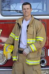 Fire lieutenant portrait