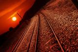 Nostalgic railroad poster