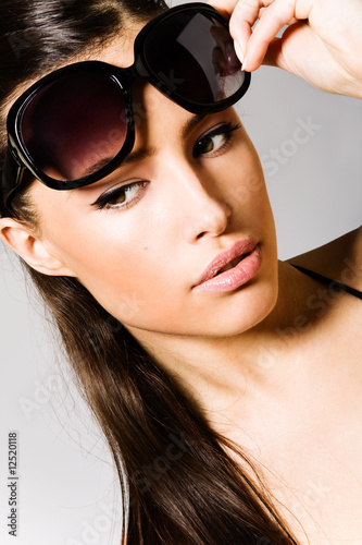 sunglasses portrait