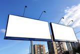 Street advertising poster