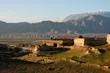 Leinwanddruck Bild - Afghanistan Dorf in der Provinz Tahar